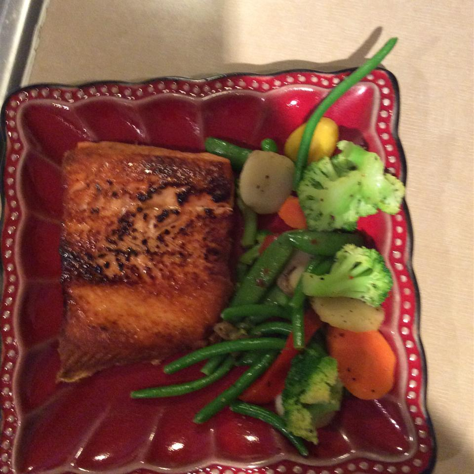 Pan-Fried Wild Salmon Zac