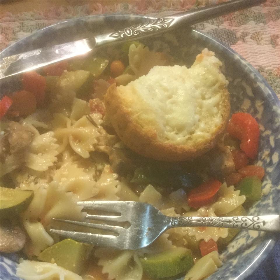 Lemon Chicken and Veggie Pasta Jim Peters