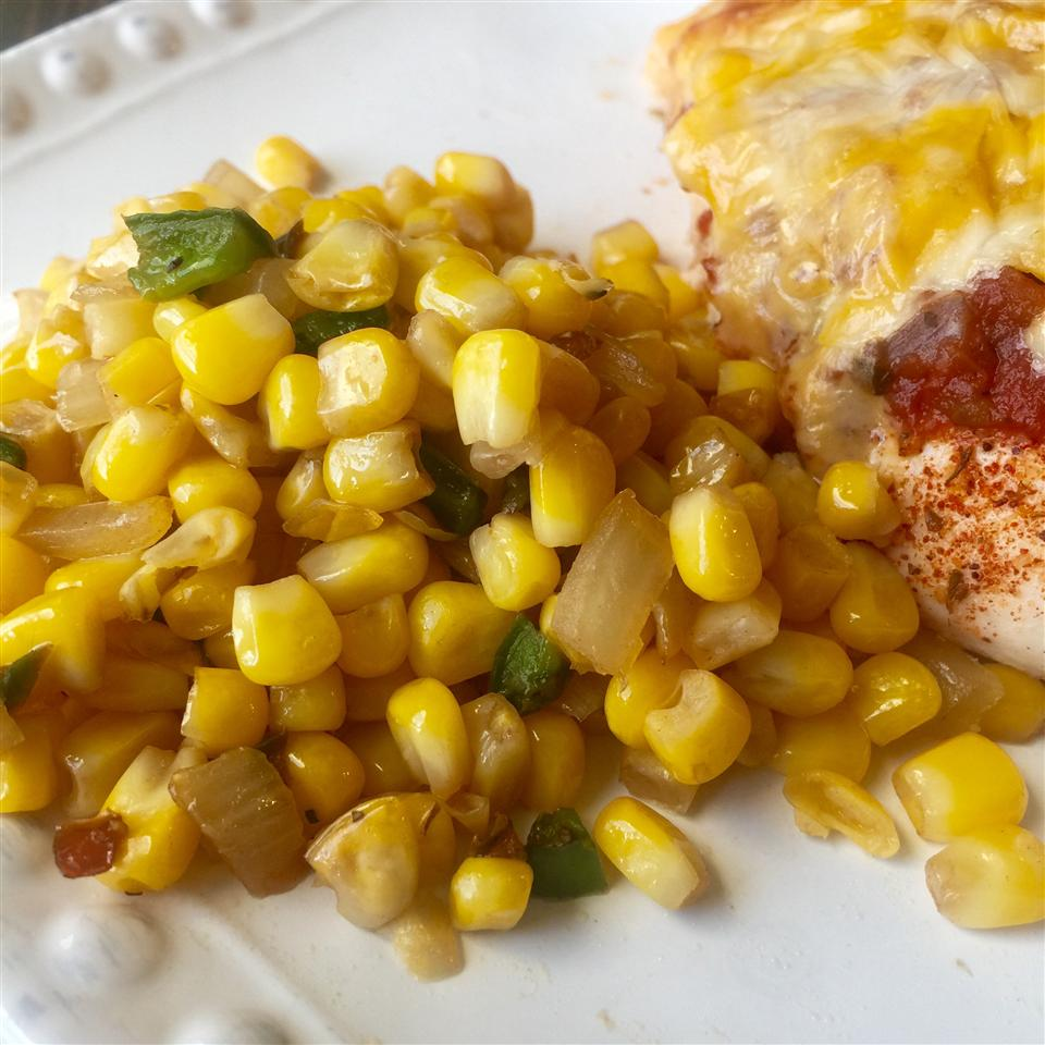 Corn with Jalapenos