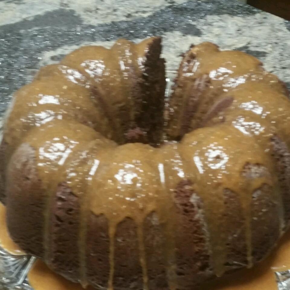 Zucchini Chocolate Rum Cake cniedziela