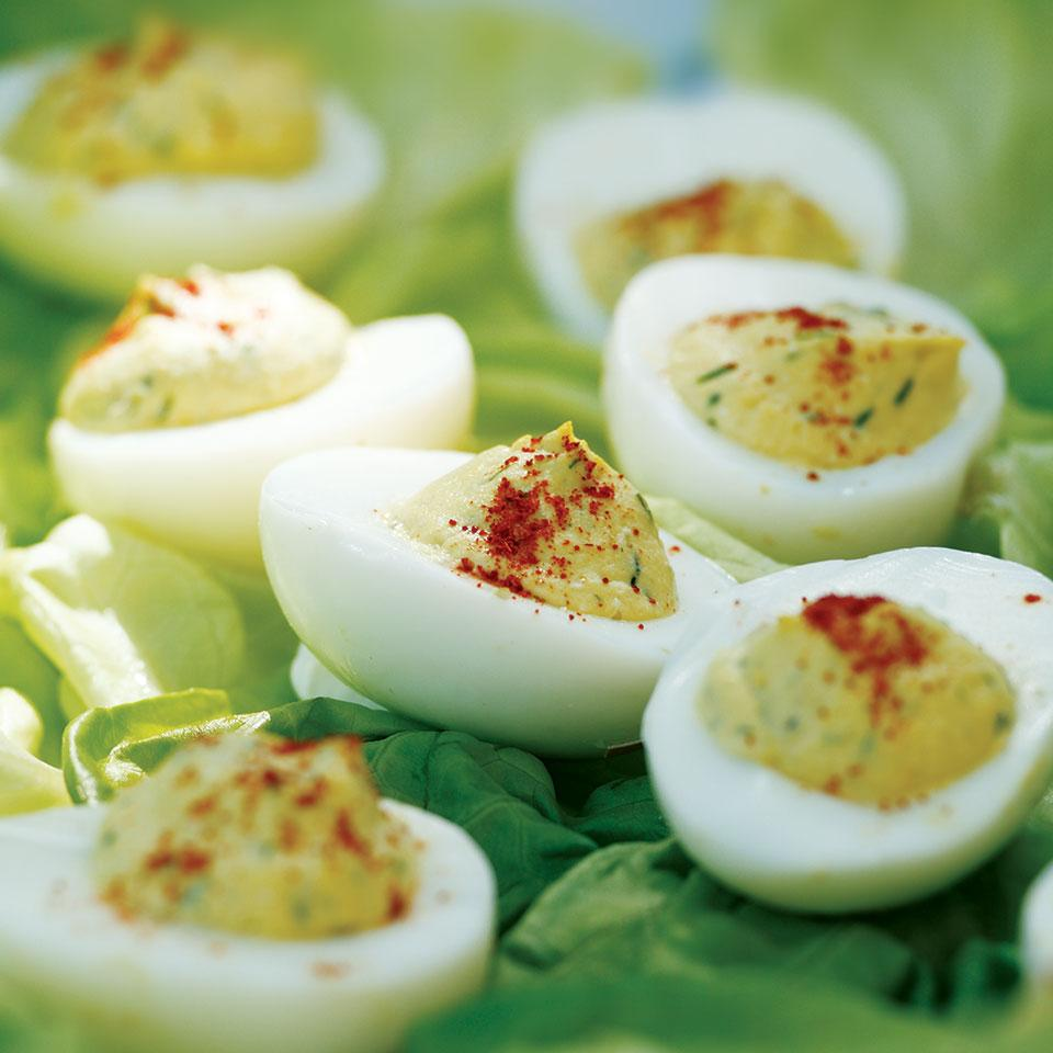 Deviled Eggs with Relish EatingWell Test Kitchen