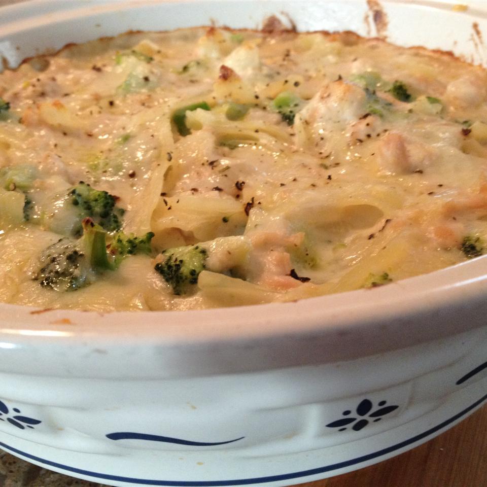 Silver's Savory Chicken and Broccoli Casserole