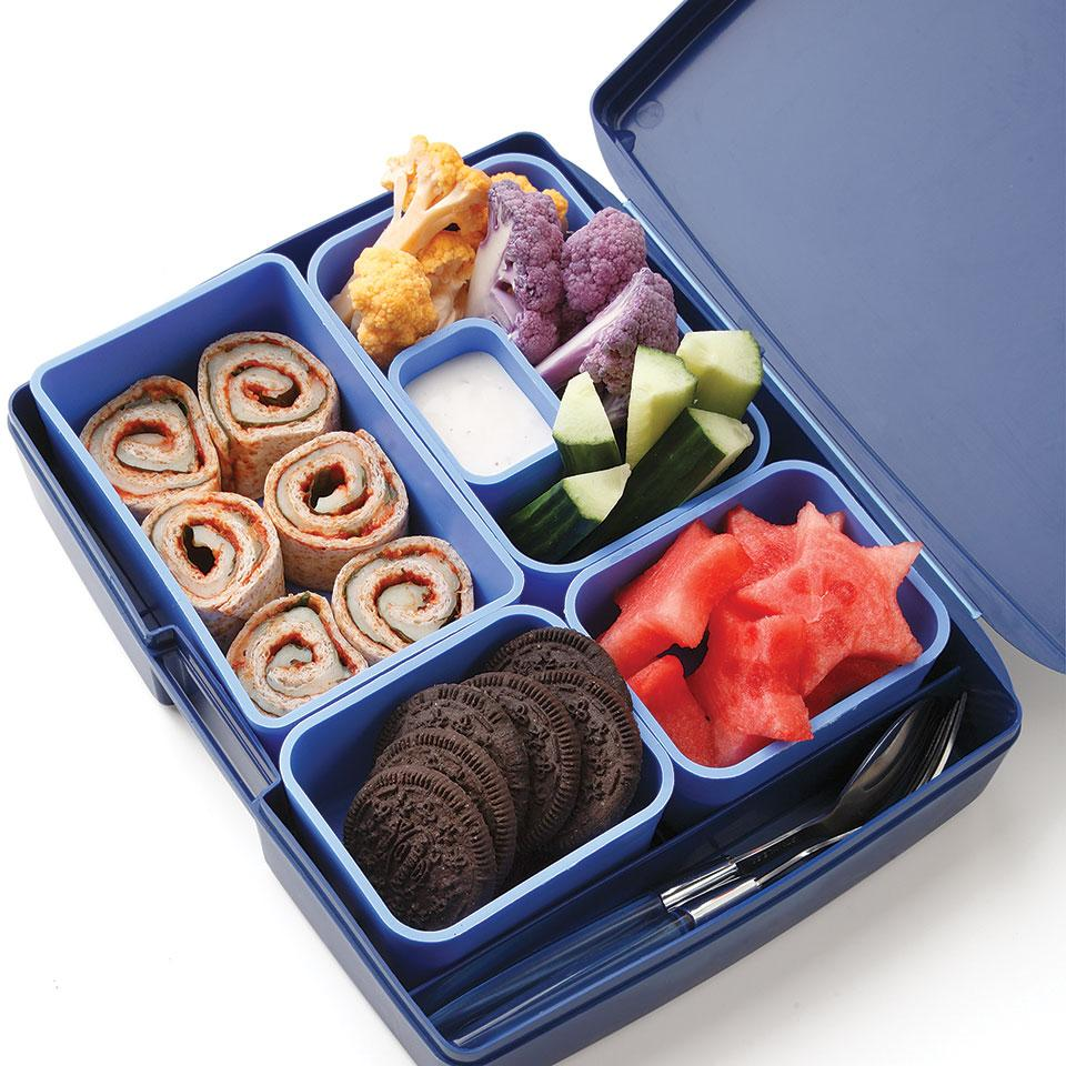 Pizza Roll-Up Bento Lunch Stacy Fraser