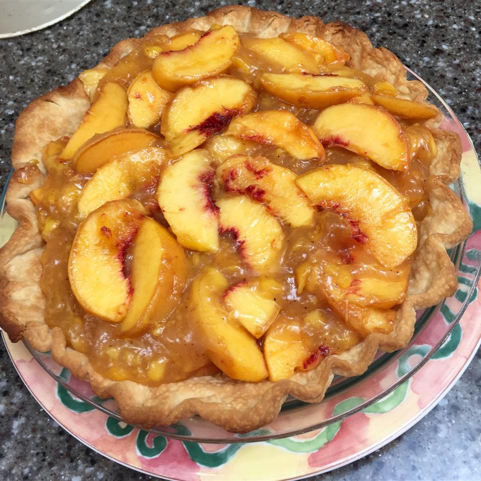 Fresh Peach Pie I Helen Dilly Coughlin