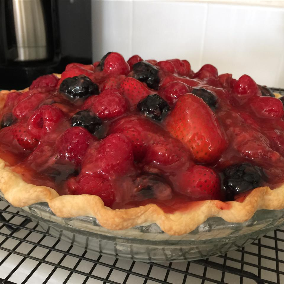 Fresh No-Bake Fruit Pie Jessica