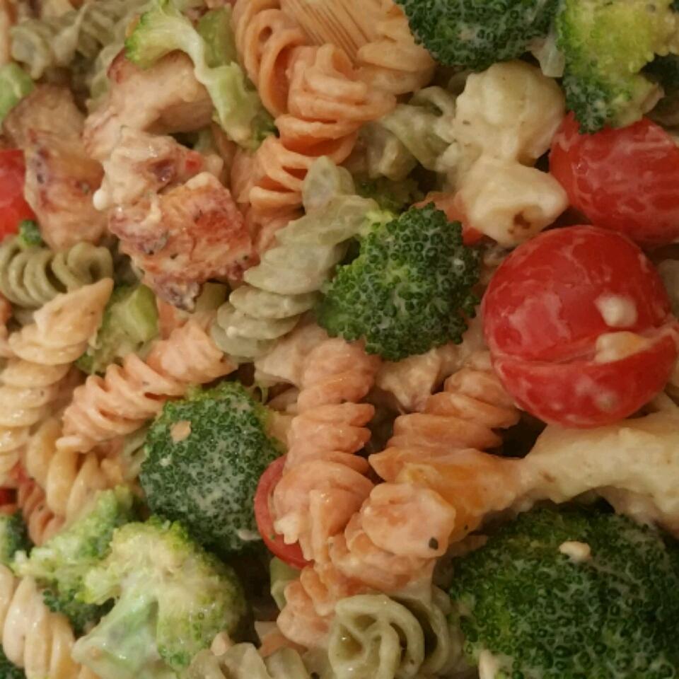 Chicken Club Pasta Salad Kimberly Reynolds