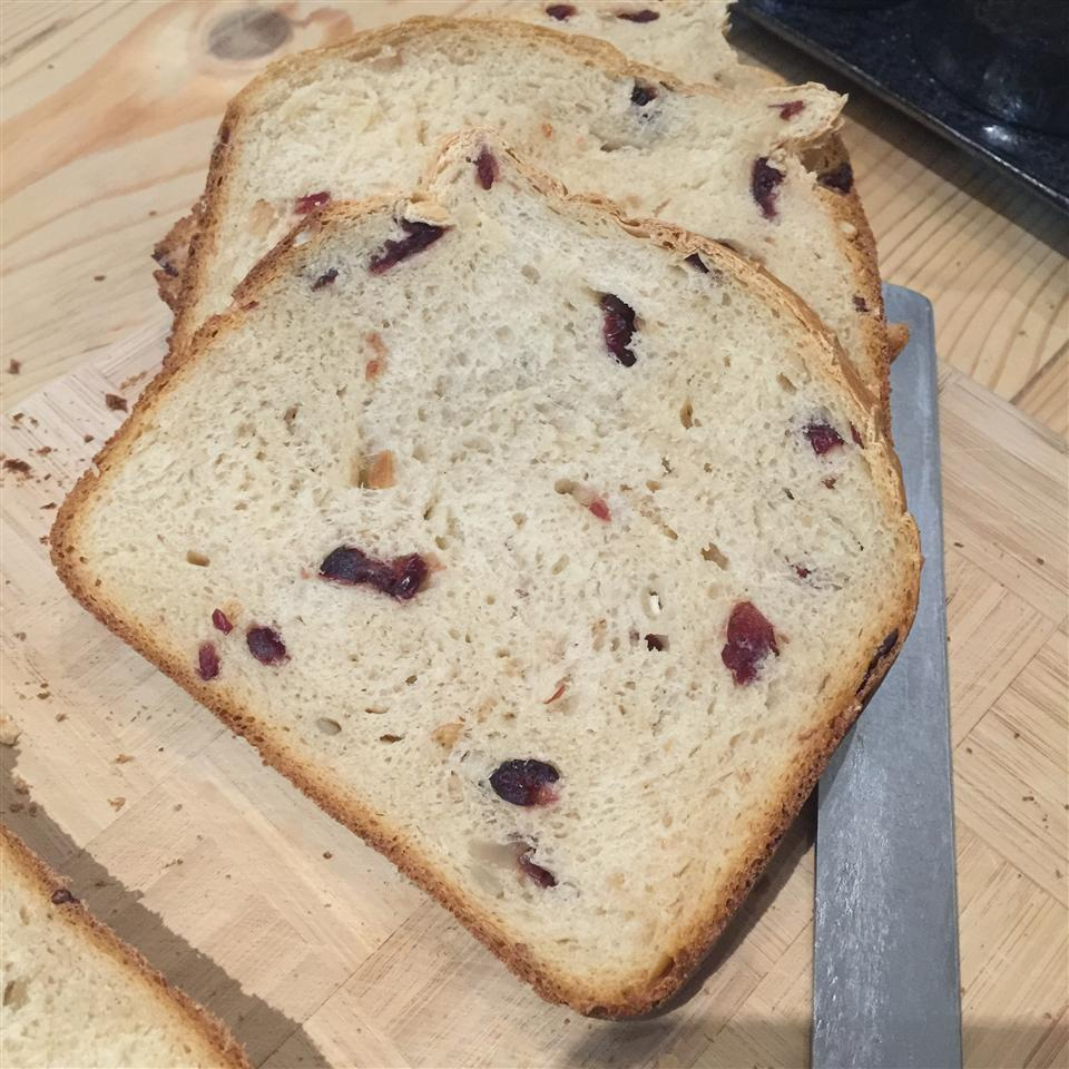 Cranberry Orange Bread (For Bread Machine) Ansellia Teo