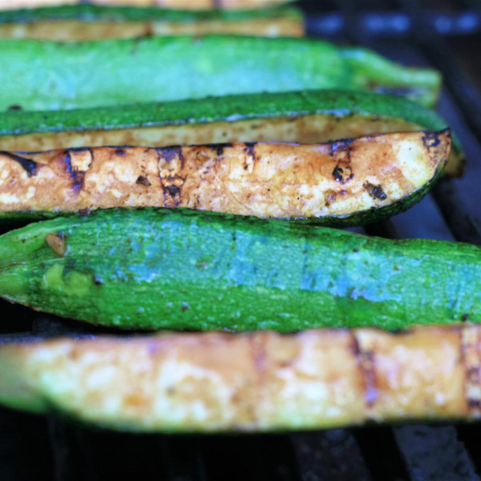 Marinated Grilled Zucchini
