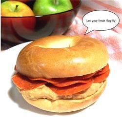 Odd Bagel Sandwiches SunnyByrd