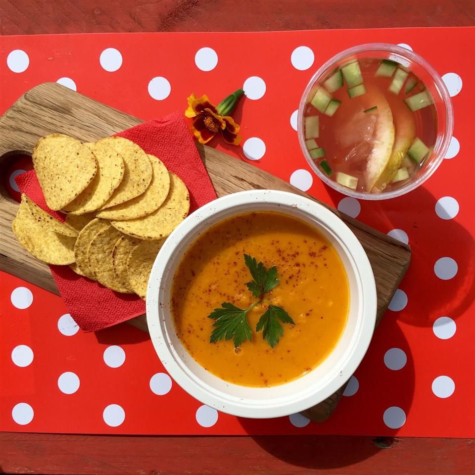 Carrot Chile and Cilantro Soup