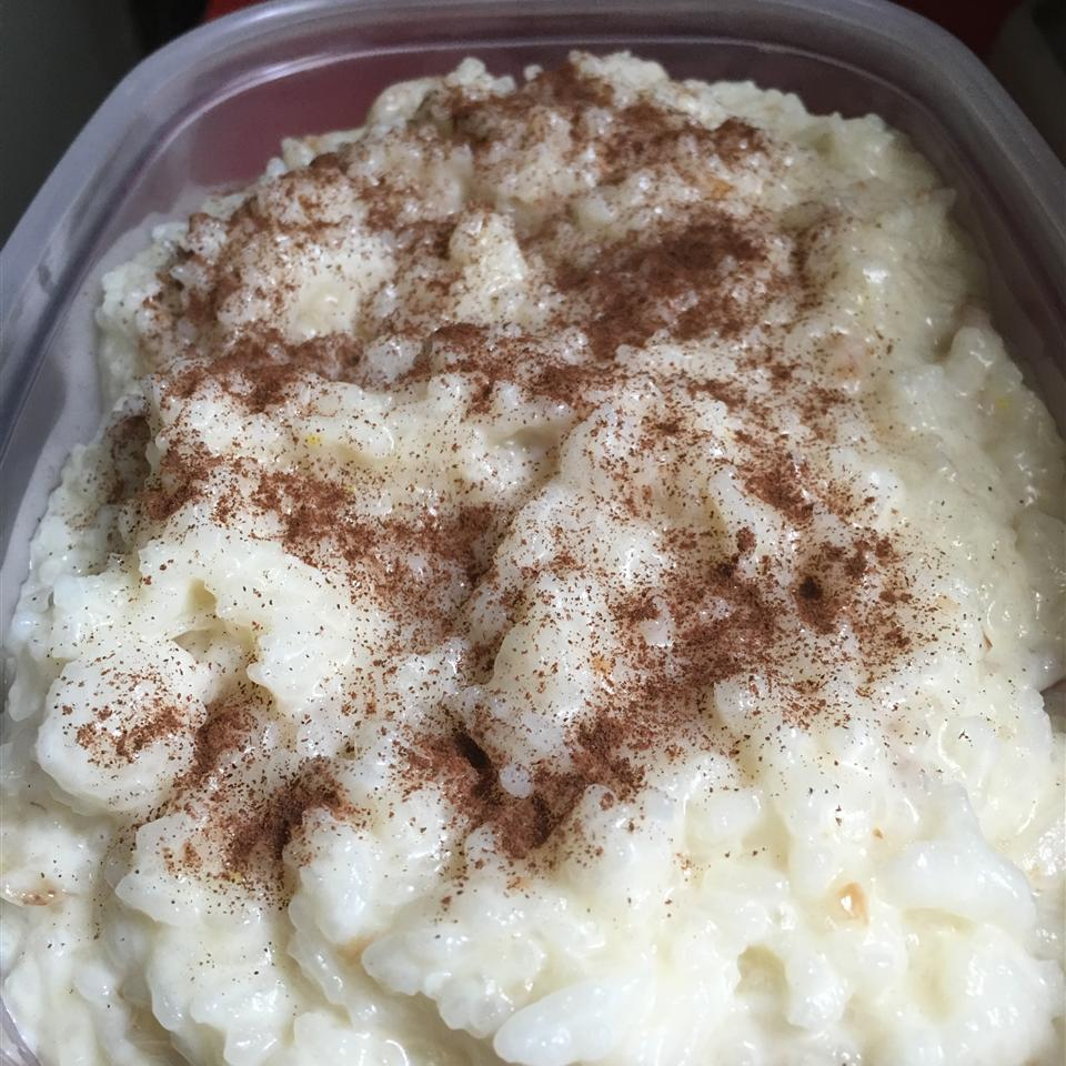 Old Fashioned Creamy Rice Pudding Cher Castine