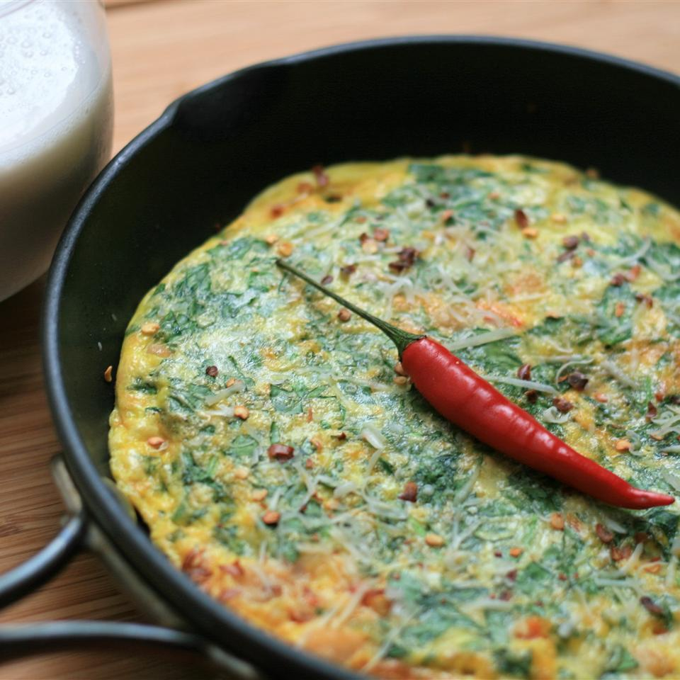 Brunchtime Spicy Chickpea Frittata France C