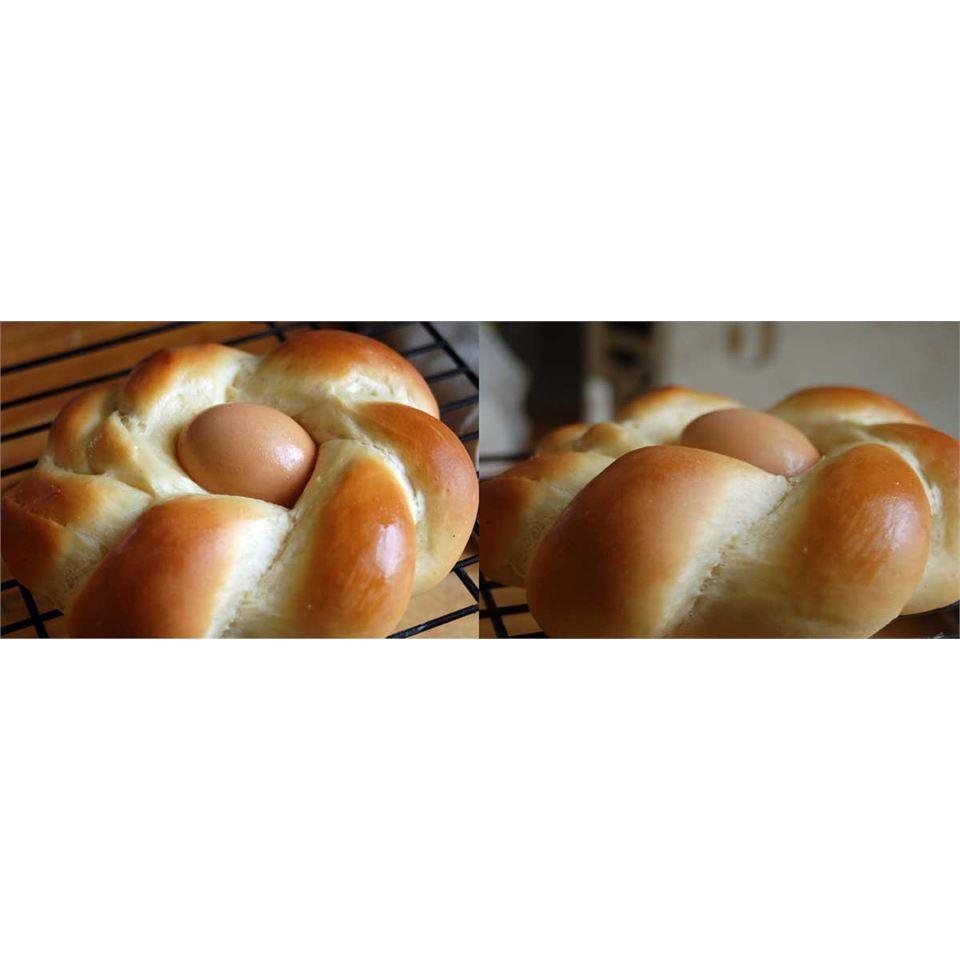 Braided Easter Egg Bread keri marion