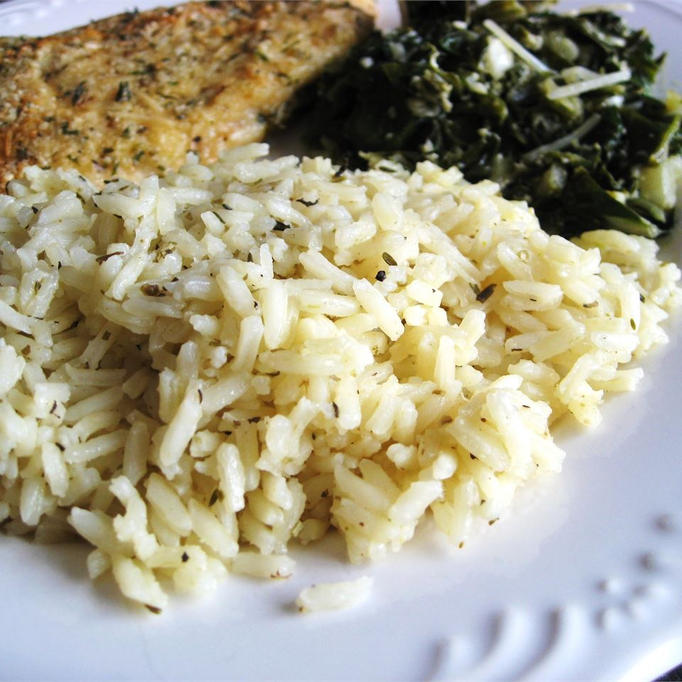 Rice with Herbes de Provence Jennifer Green