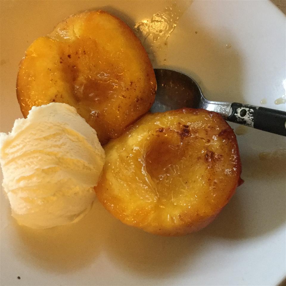 Baked Peaches 'n Cream Zevah