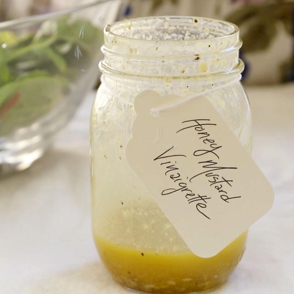 Honey-Mustard Vinaigrette EatingWell Test Kitchen