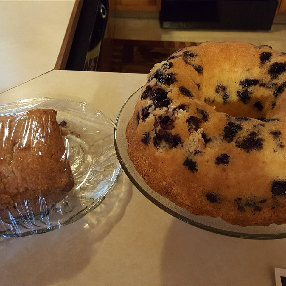 Blueberry-Lemon Pound Cake Rose Rivera
