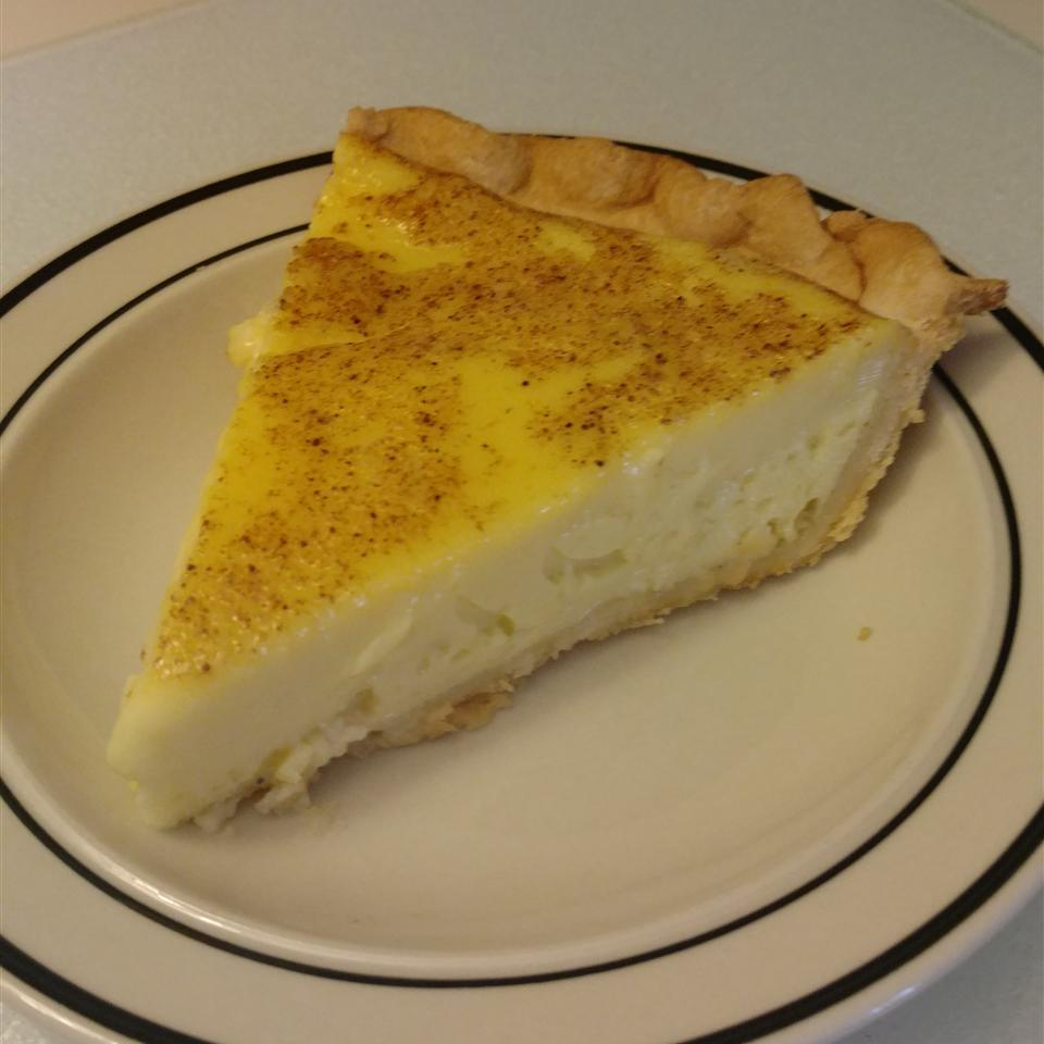 Elva S Custard Pie Recipe Allrecipes