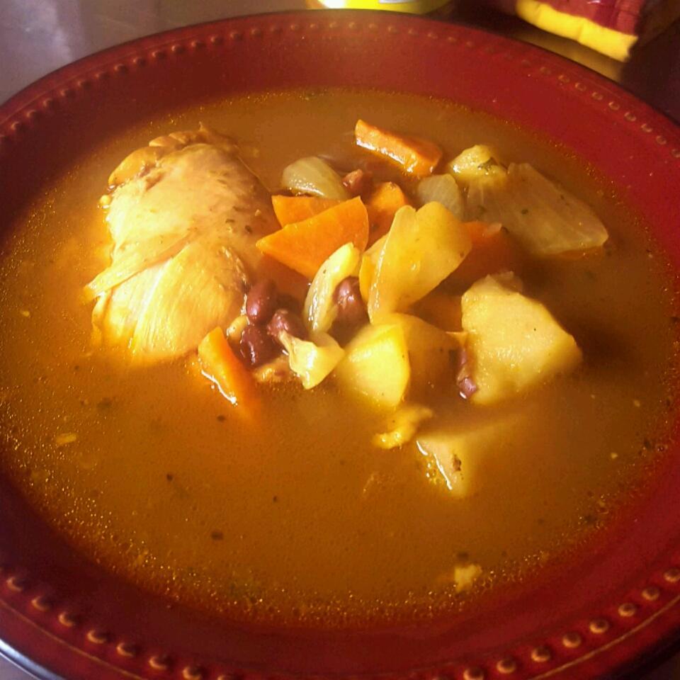 Spicy Black Bean Vegetable Soup SunnyDaze