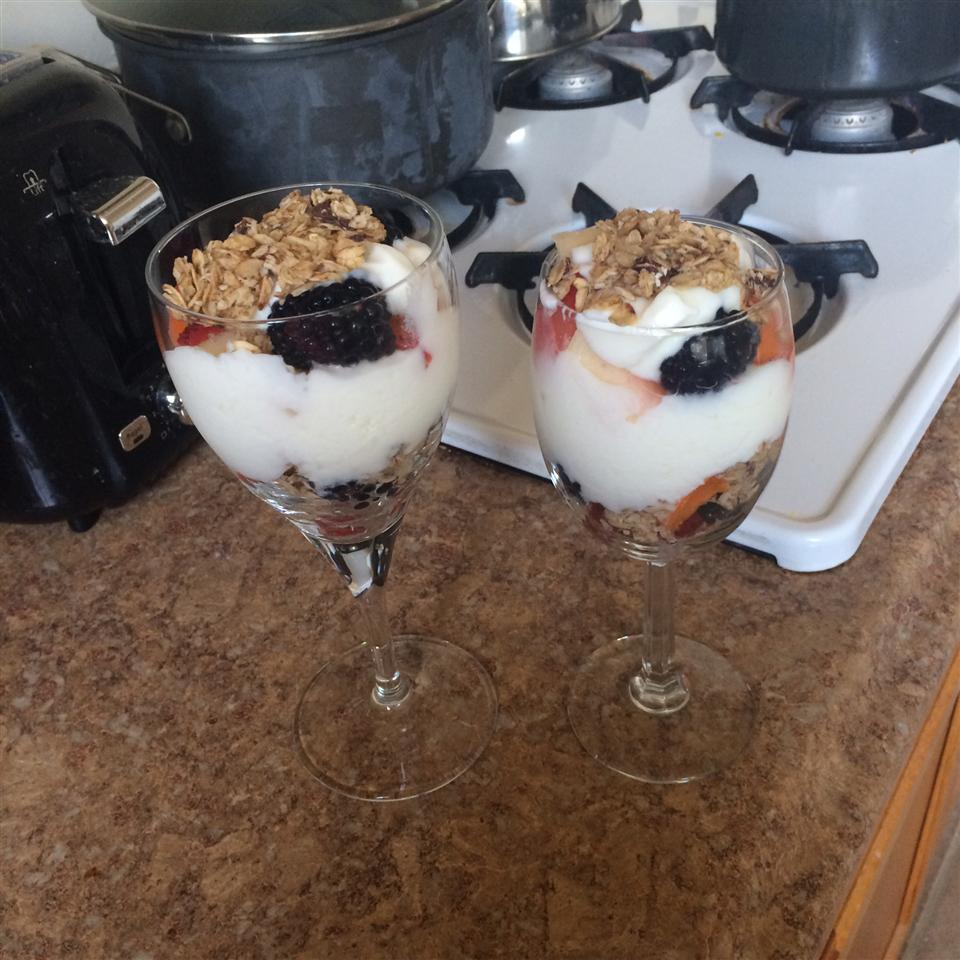 Yogurt Parfait Nastaran Shojaee