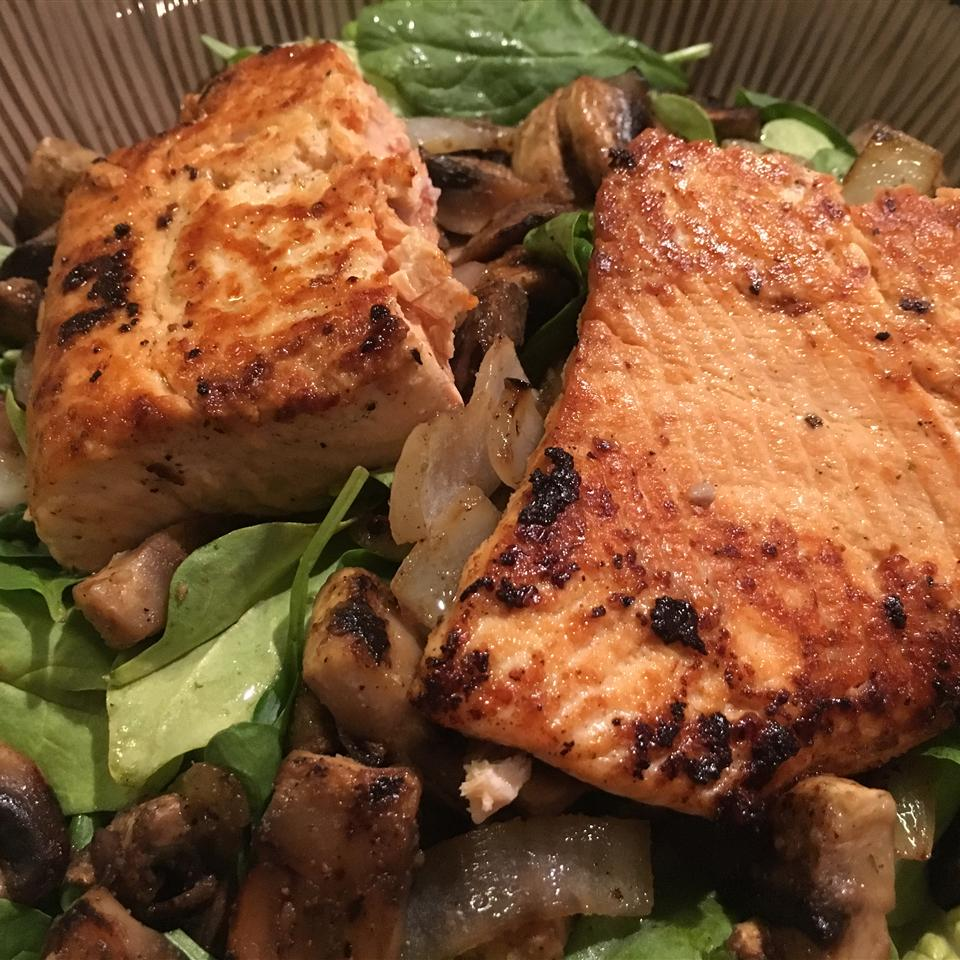 Easy Lemon-Pepper Blackened Salmon