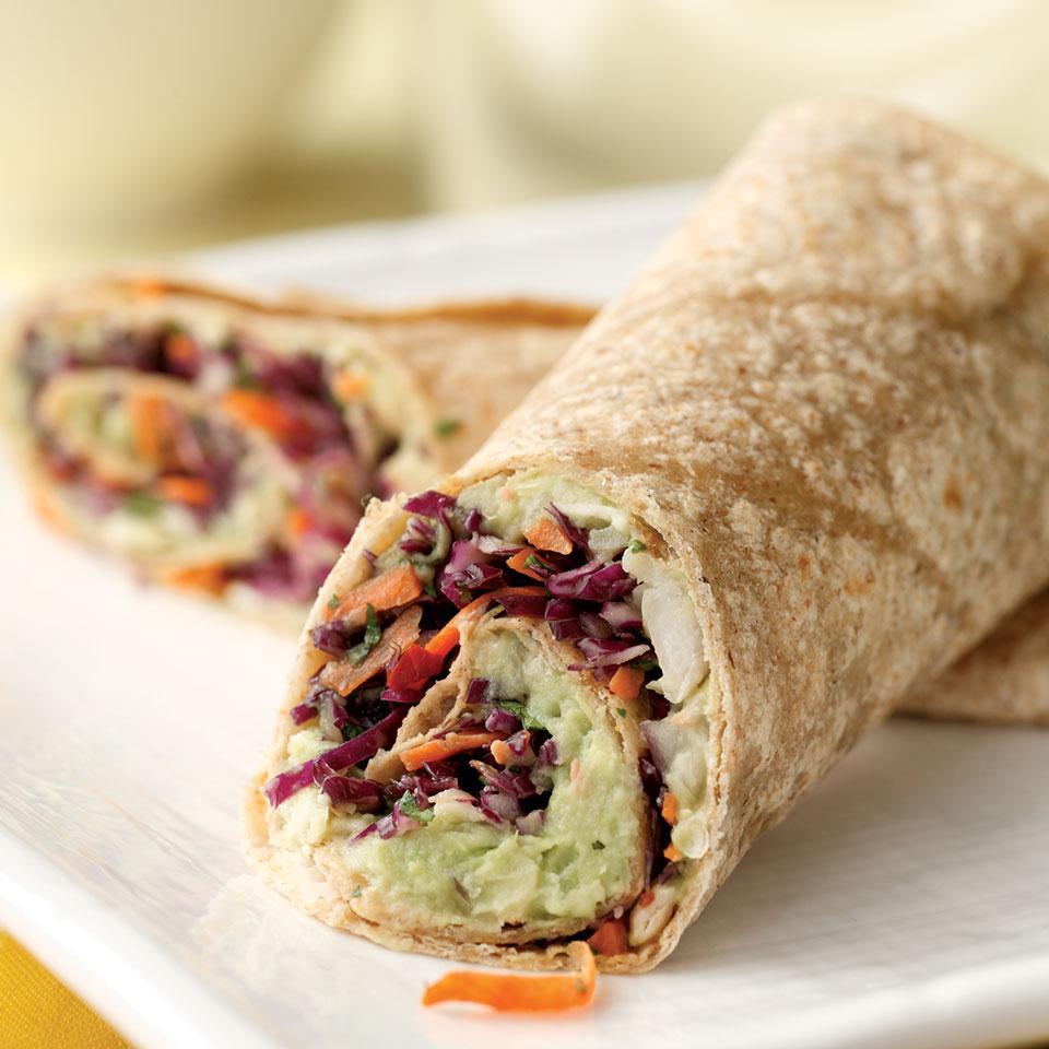 Creamy Avocado & White Bean Wrap EatingWell Test Kitchen