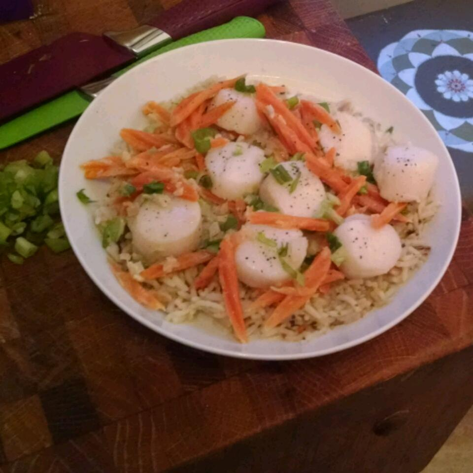 Ginger Scallops Andy Ruch