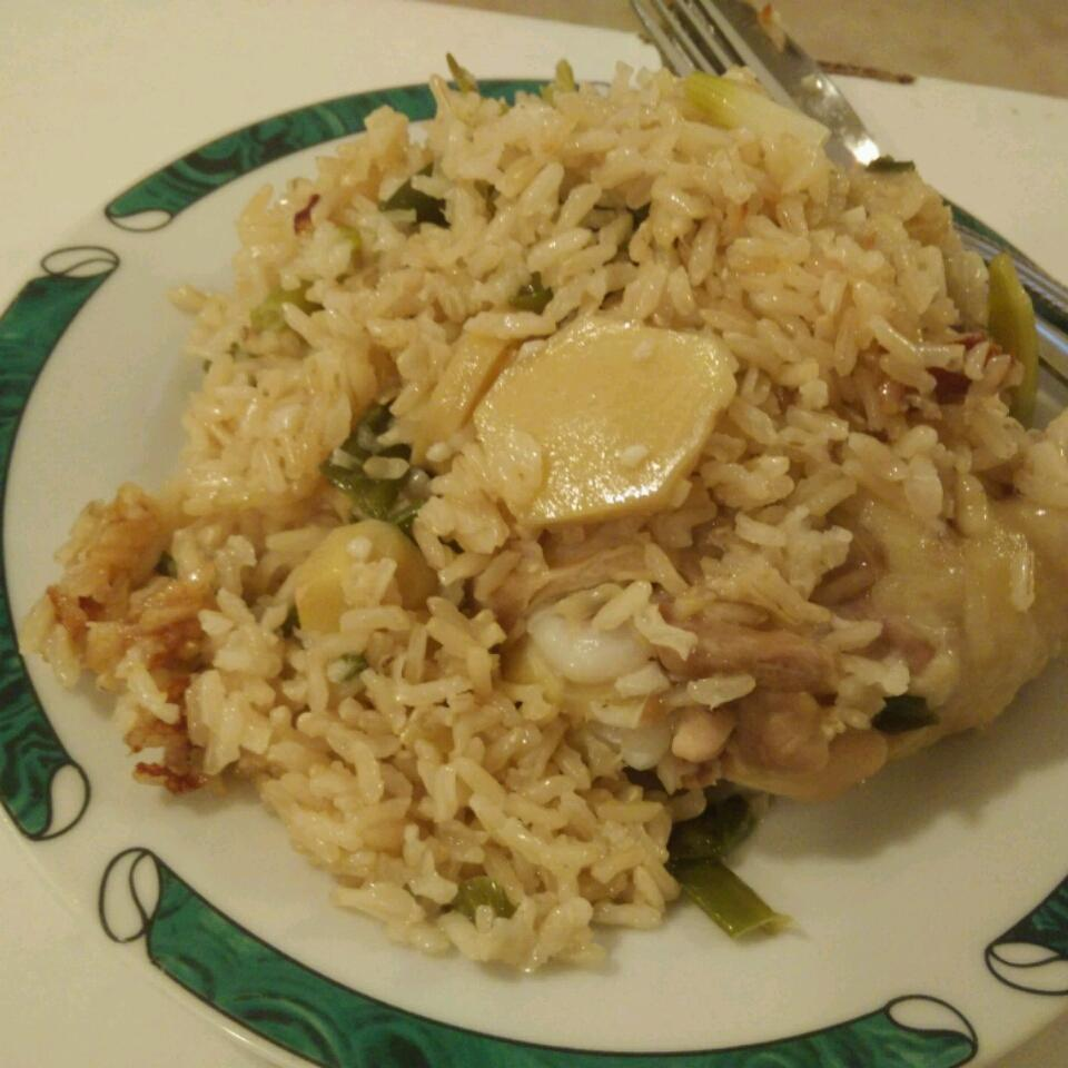 Garlic Chicken Fragrant Rice On a Budget Yong Jie Wong