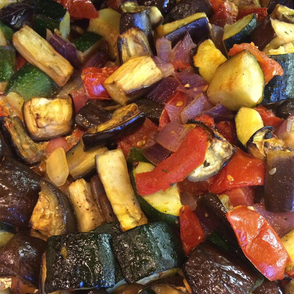 Roasted Baby Eggplant, Tomato, and Zucchini Anonymous