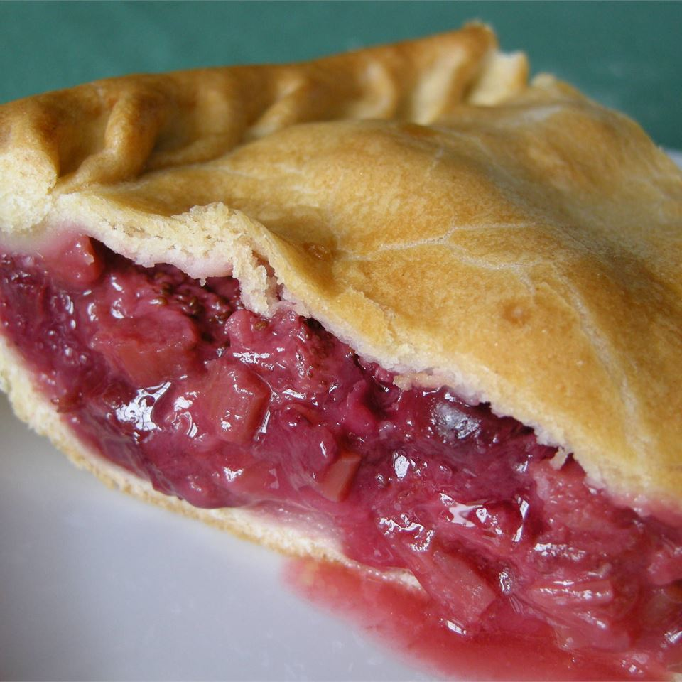 Fresh Rhubarb Pie Allrecipes