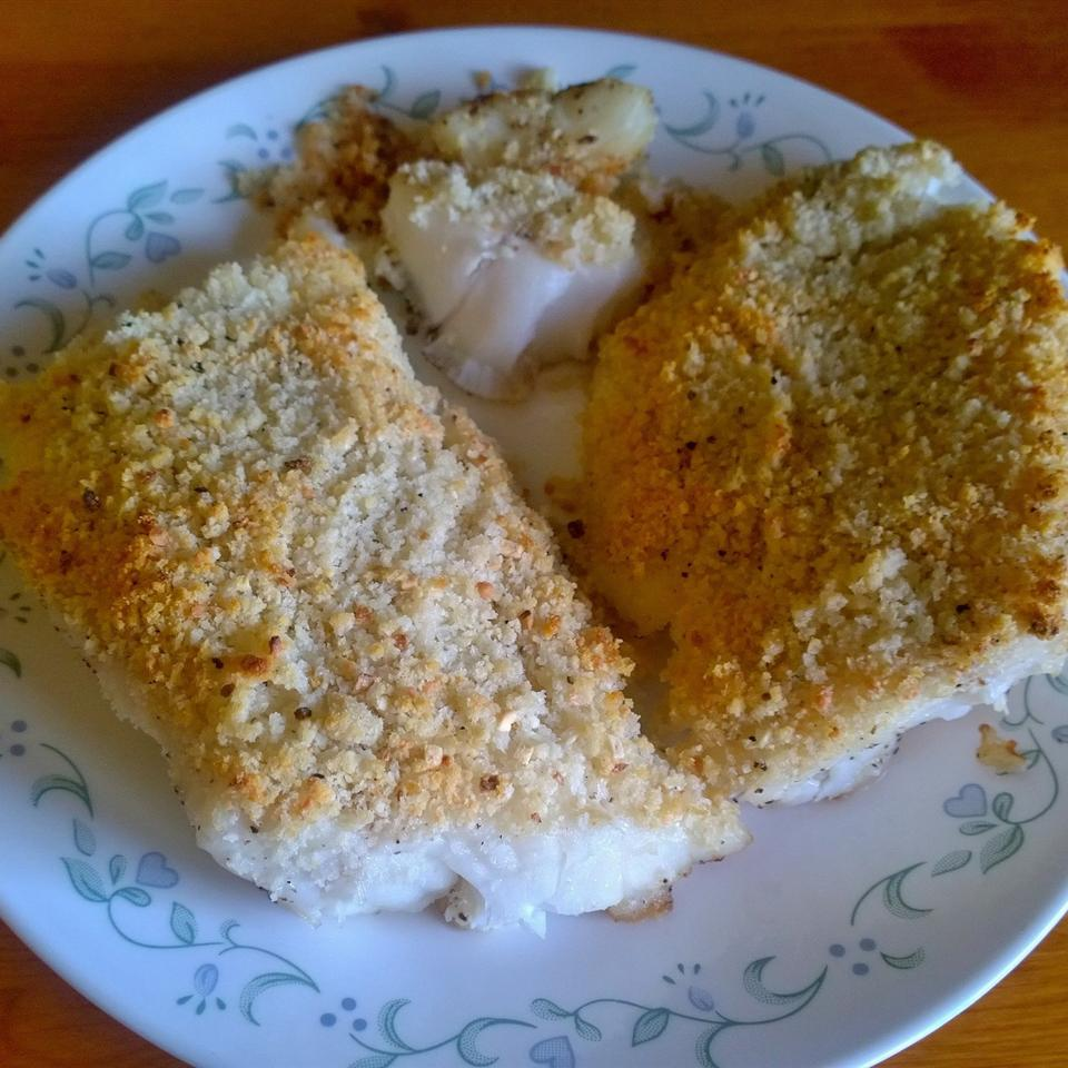 Pan-Seared and Crusted Ling Cod Tashia Thompson