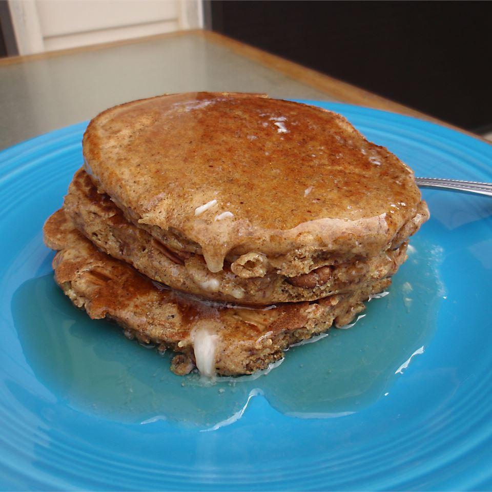 Dad's Double Whole Grain Pancakes Scotdog