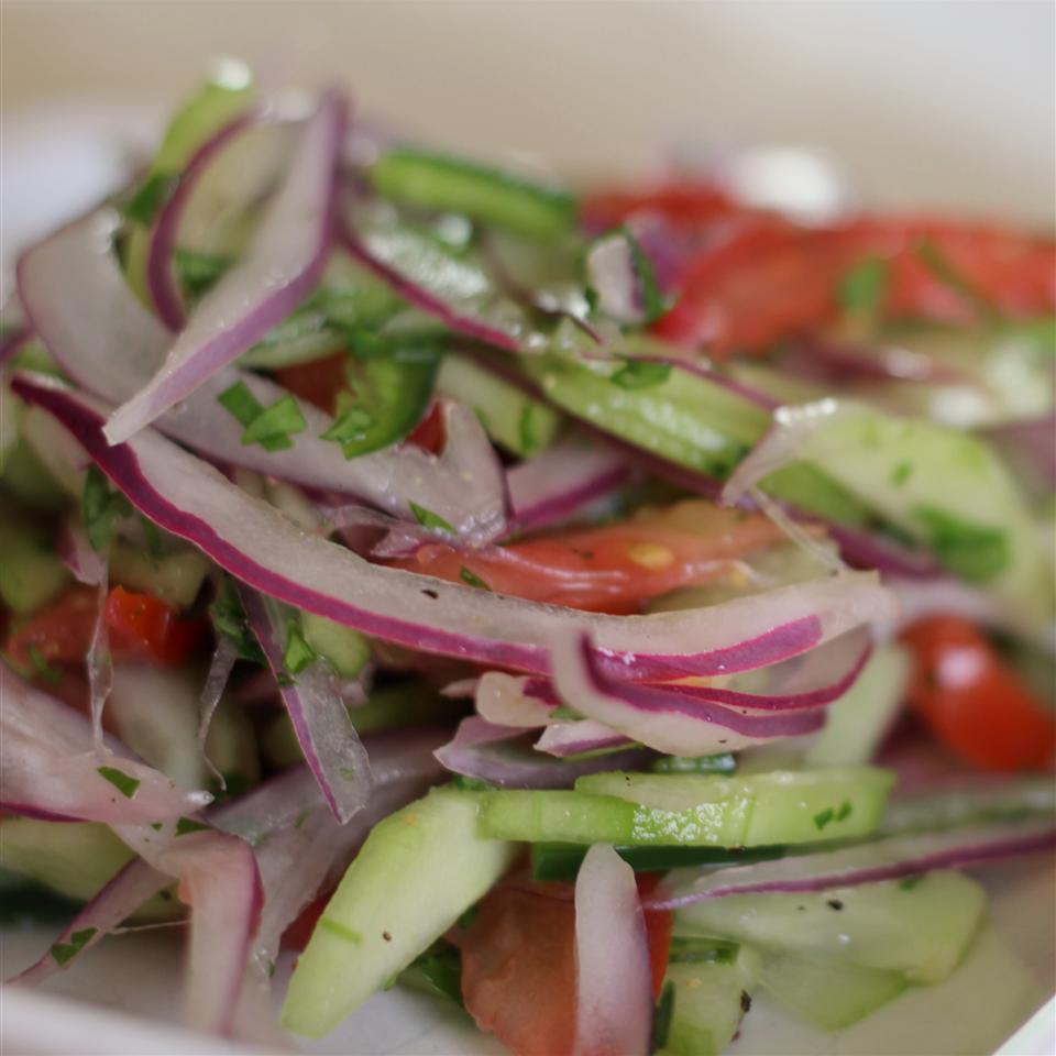 Peruvian Pickled Onions (Salsa Criolla)