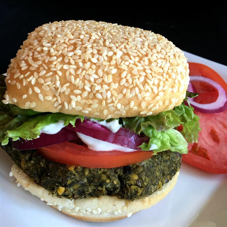 Falafel Burgers Happyschmoopies