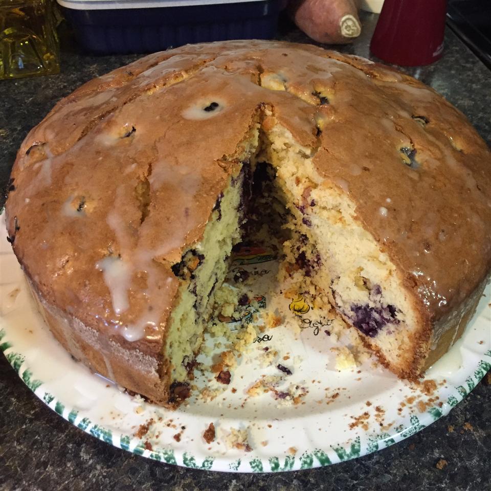 Blueberry-Lemon Pound Cake Saraschen