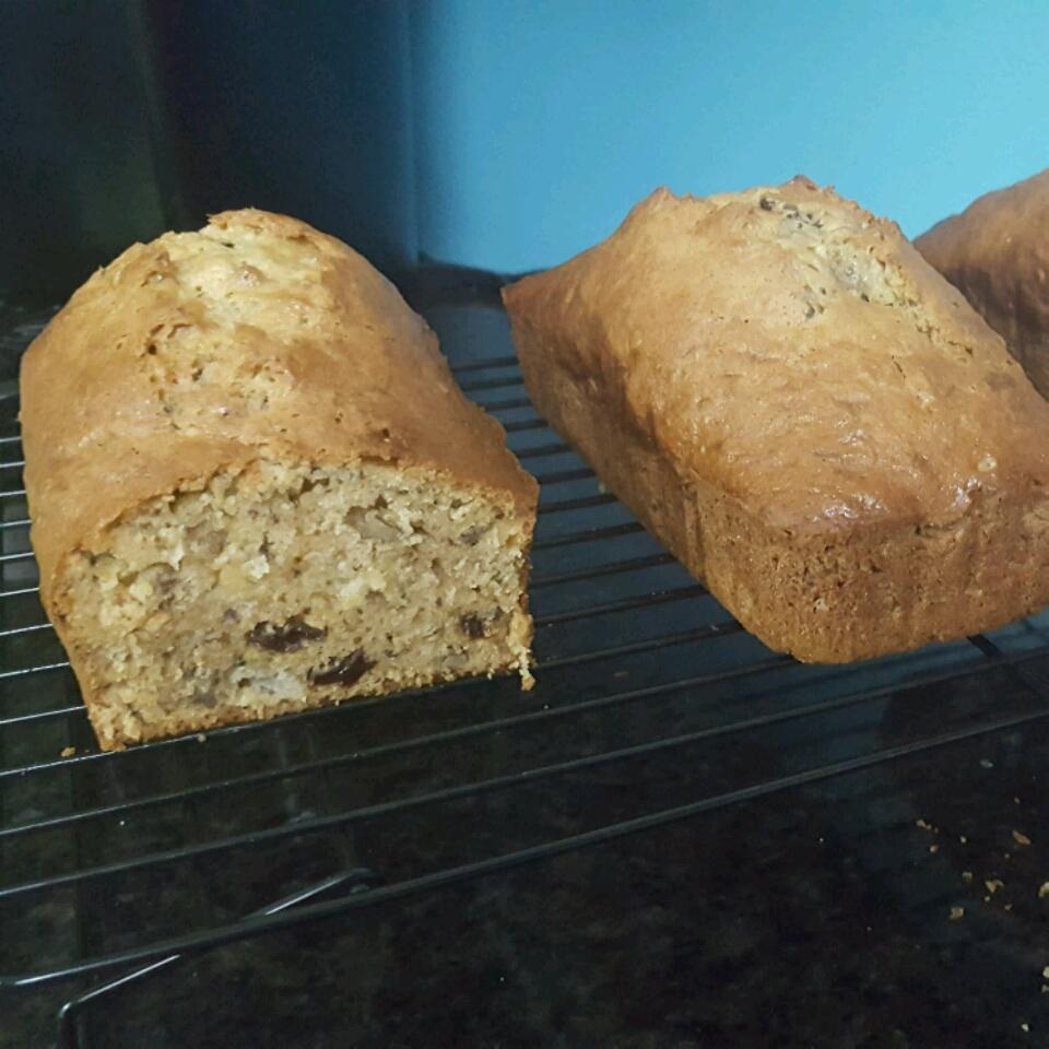 Zucchini Pineapple Bread II Maria Miller