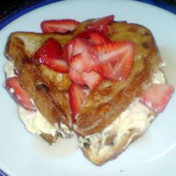 Toasted Strawberry-Cream Cheese Breakfast Sandwiches Ange Rayner