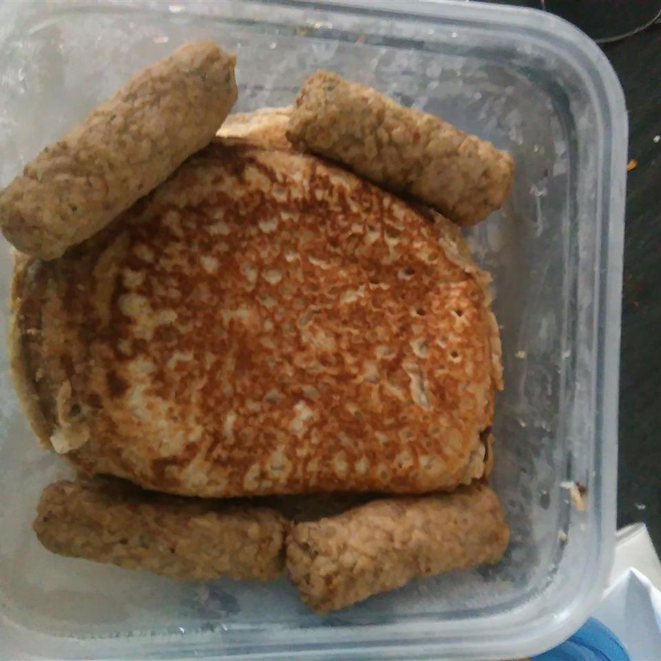 100% Whole Wheat Pancakes Khristi Valadez