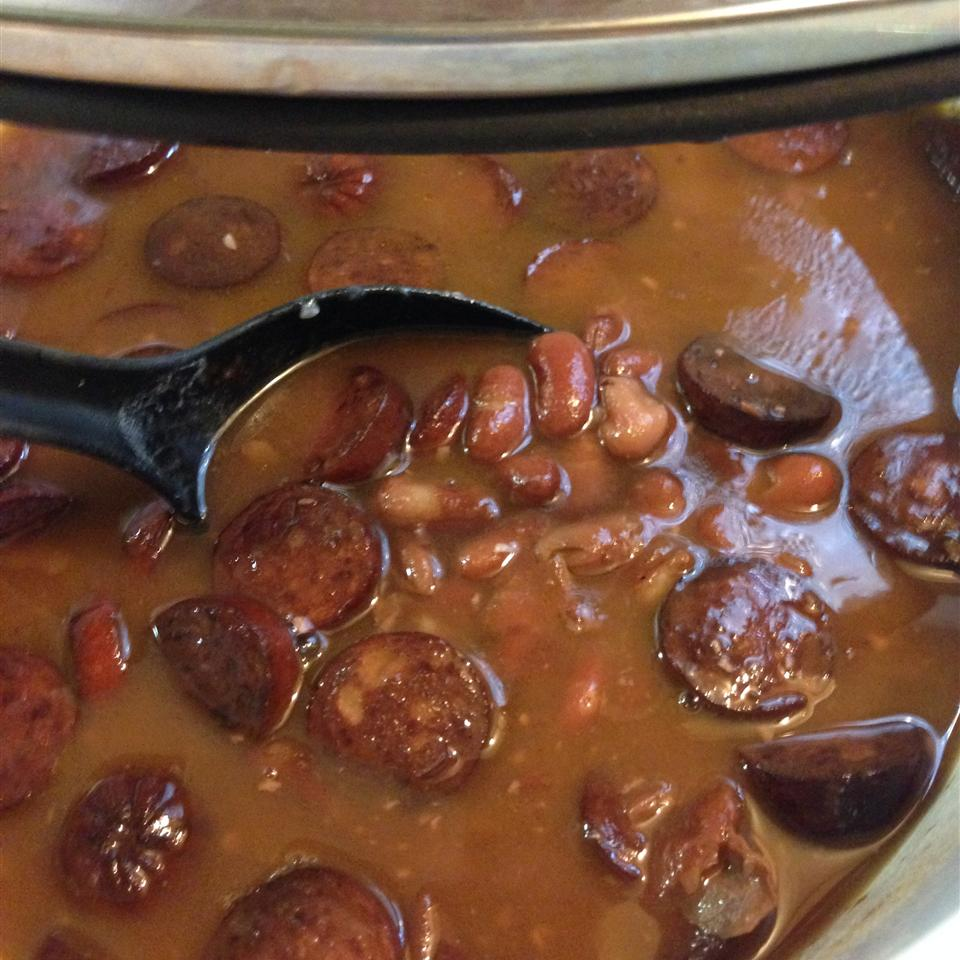 Slow Cooker Red Beans and Rice Regina Vowell Woodall