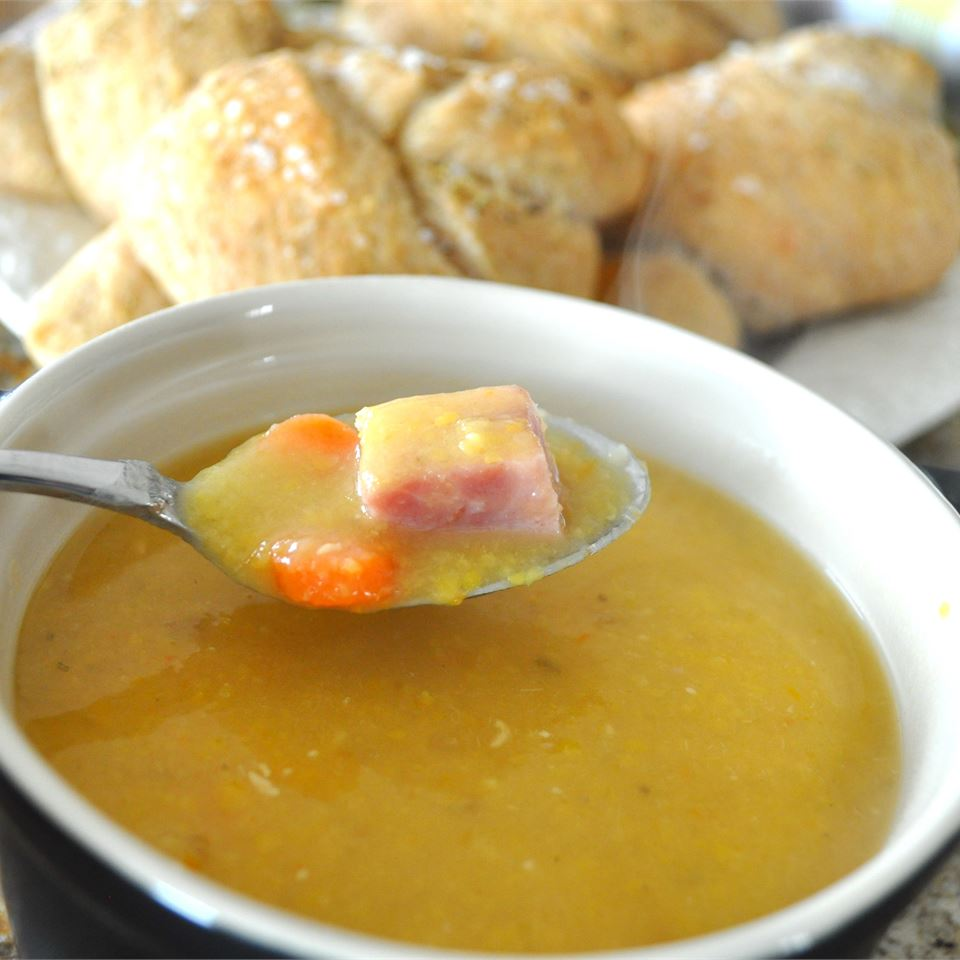 Split Pea Soup with Rosemary
