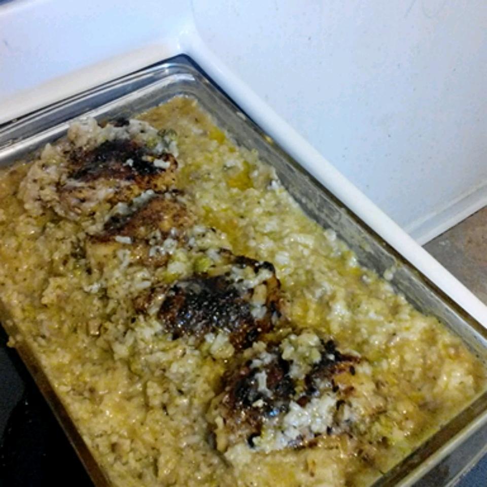 Creamy Chicken Rice and Veggie Bake Samantha Penick