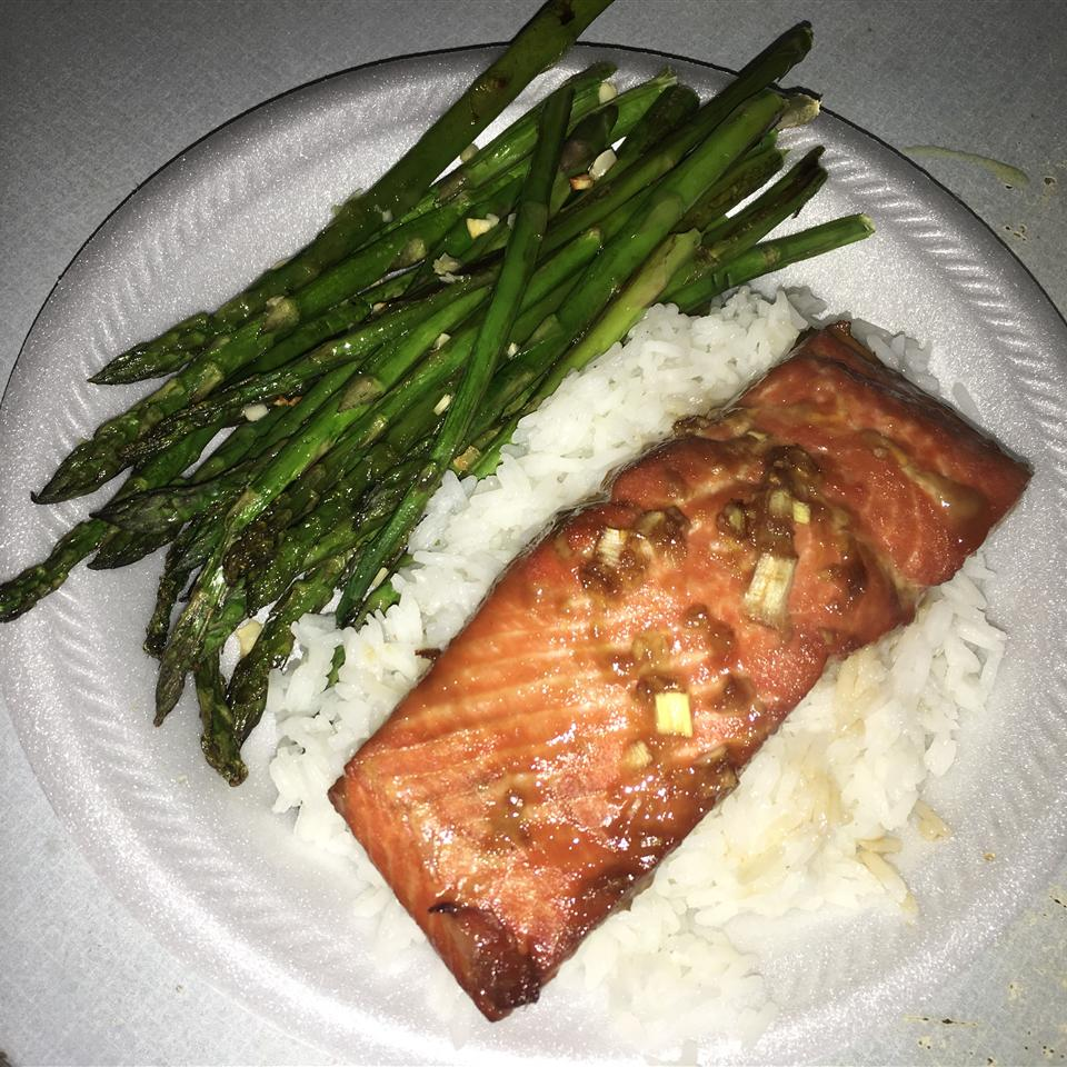 Tiffany's Asian-Infused Salmon Packets Crystal Renée Souther