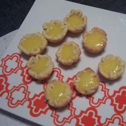 Lemon Curd Tassies WHIRLEDPEAS