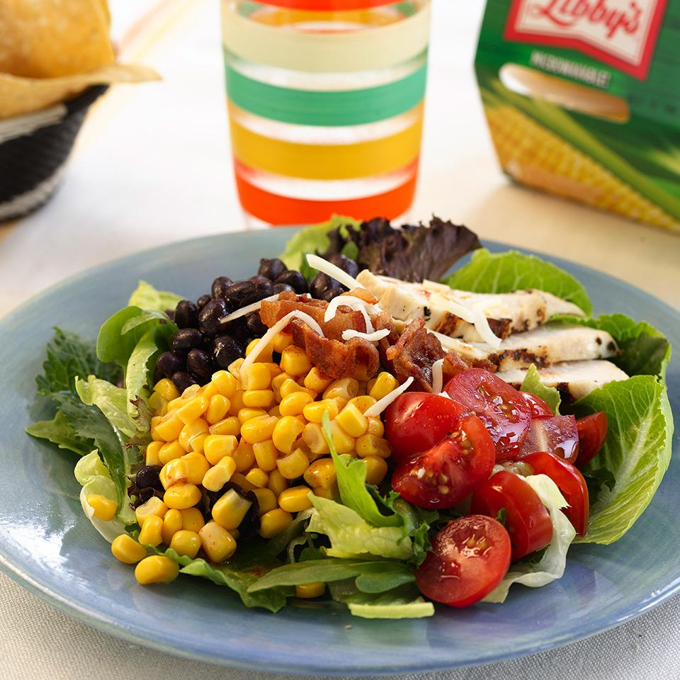 Mexican Chicken and Corn Salad