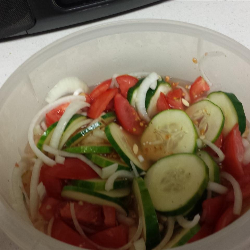 Adrienne's Cucumber Salad