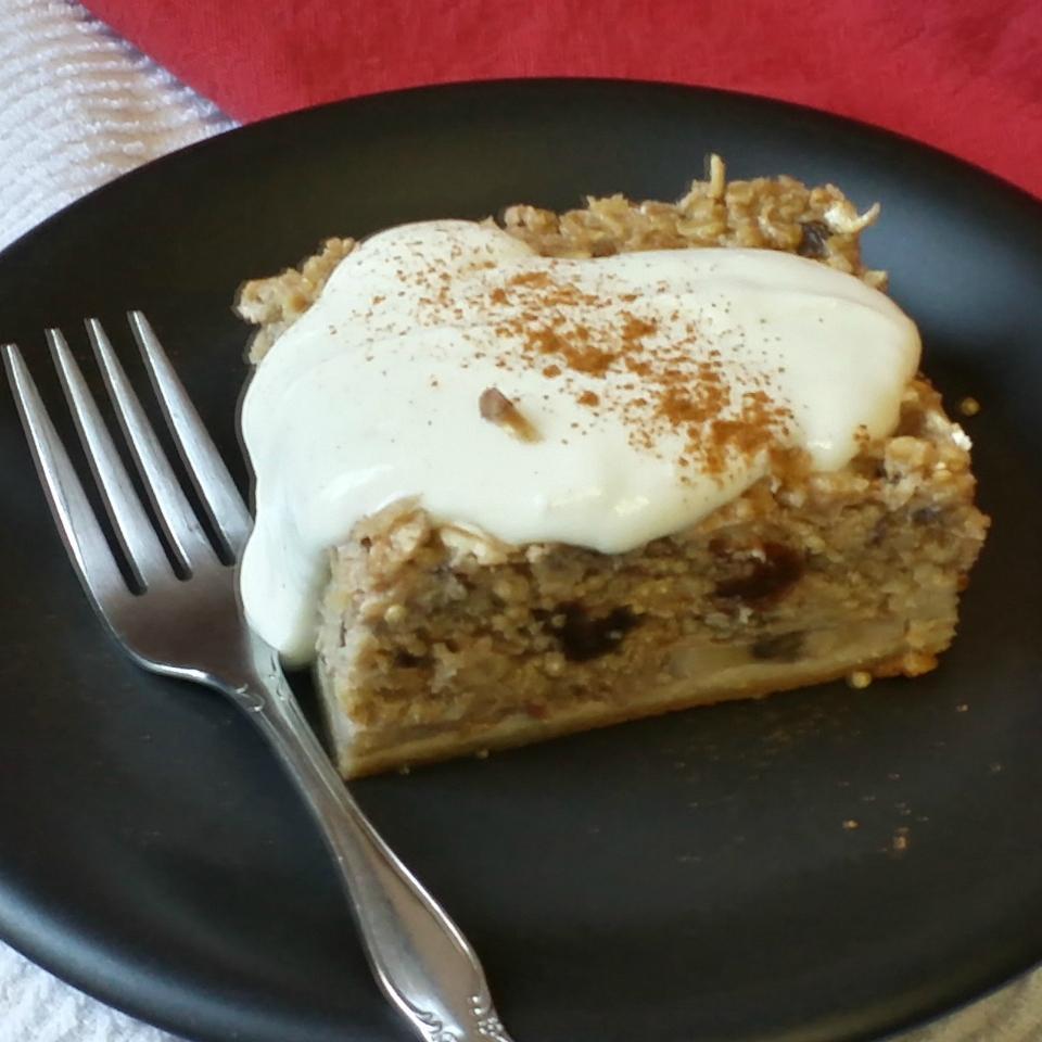 Oat and Quinoa Breakfast Cake
