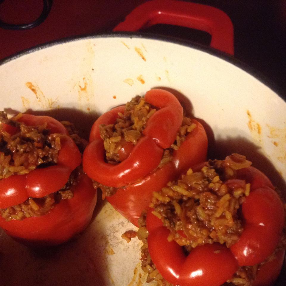 Kelsey's Favorite Stuffed Green Peppers Jackita