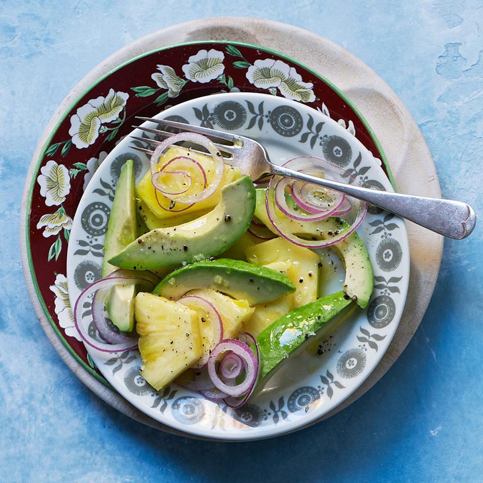 Pineapple & Avocado Salad Darra Goldstein