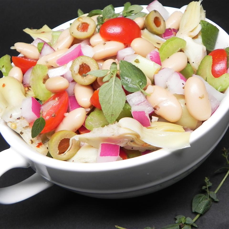 Cannellini Bean and Artichoke Salad Soup Loving Nicole