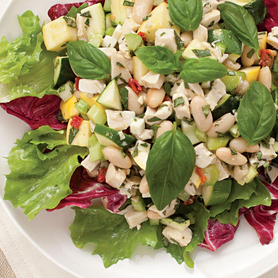 Chicken & White Bean Salad EatingWell Test Kitchen